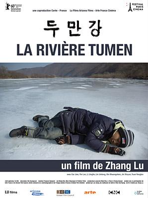 La rivière Tumen - Affiche