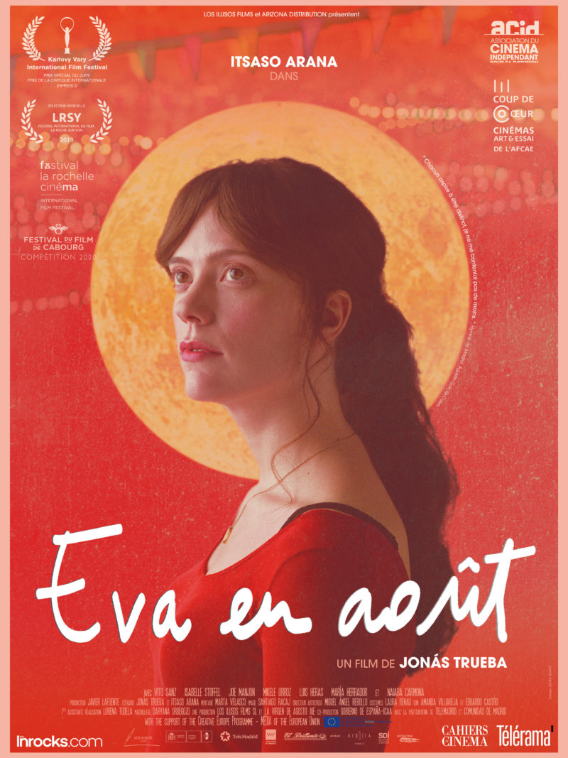 EVA EN AOÛT - Affiche
